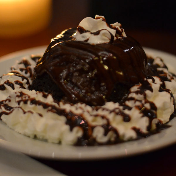 LEAVE ROOM FOR OUR DELECTABLE DESSERTS